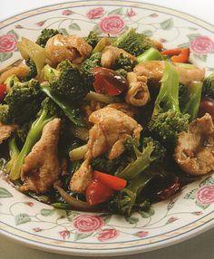 Brócoli con Pollo (para 2 personas)