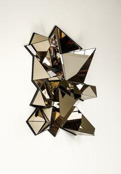 MERCURE par Mathias Kiss - 2014 - L.100 x H.140 x P.45 cm - PIECE UNIQUE