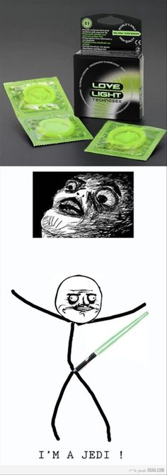 glow in the dark condoms, this made me laugh out loud!