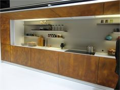 On Trend:  Corten Steel for Interiors via @Formica Group