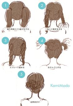 easy hairstyle long hair