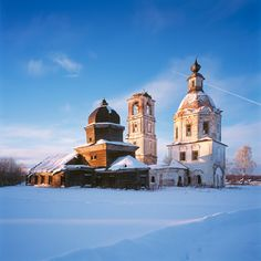 One day I will go see the wooden churches of Russia