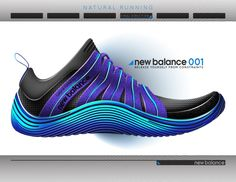 New Balance 001 by Brett Golliff at Coroflot.com
