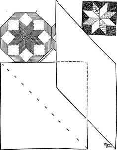Quilt pattern: Rolling Star