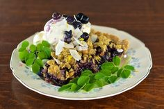 Moringa Blueberry Crumb Pie: A Fit Twist To A Classic Delight