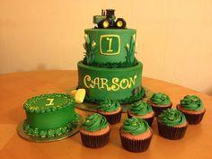 john deere cakes | john deere 1st john deere 1st birthday john deere birthday cake john ... THIS WOULD BE GOOD FOR LUKE