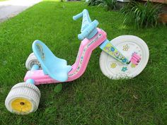 New Vintage Toys Big Wheel Ideas Vintage Toys 80s, Retro Toys, Vintage Stuff, Vintage Dolls, 90s Childhood, My Childhood Memories, 90s Toys, Big Wheel, 80s Kids