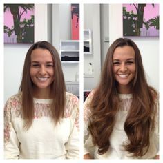 Cassie achieved this look in less than 3 hours with Hair Dreams Hair Extensions by Multiply Your Hair in San Diego
