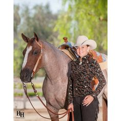 Pirouette SwitchIt Show Jacket - Rust - Complete Look with Horse