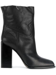 SAINT LAURENT | Jodie 105 Western ankle boots #Shoes #SAINT LAURENT