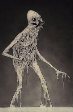 130 ilustrciones macabras de John Mortensen