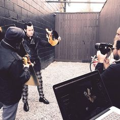 Behind the scenes of Jack White's Billboard Magazine cover shoot.