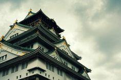 Osaka Castle, via Flickr.
