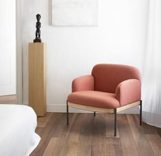 The 'Abisko' seating collection,designed by Claesson Koivisto Rune, has recently been launched by True Design - ScandinavianDesign.com Italian Furniture Brands, Soft Seating, Nordic Design, Scandinavian Style, Art And Architecture, Runes, Wooden Frames, Armchair, Upholstery