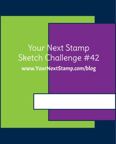 Sketch and Color Challenge 42    Your Next Stamp