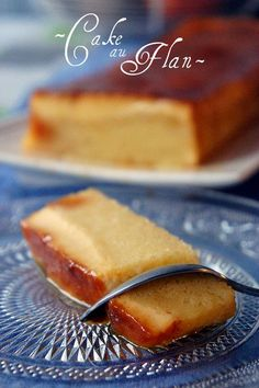 x cake au flan No Cook Desserts, Just Desserts, Delicious Desserts, Yummy Food, Sweet Recipes, Cake Recipes, Dessert Recipes, Flan Cake, Love Food