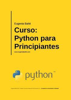 "Cover of ""Python para principiantes"" Technology World, Computer Technology, Computer Programming, Computer Science, Computer Tips, Computer Engineering, Coding Languages, Python Programming, Computer Network"