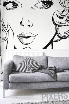 How To Give Your Walls The Wow Factor? Try Our Pop Art Wall Mural Part 85
