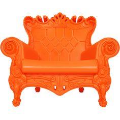 Retrô Poltrona Queen of Love - designers italianos (Graziano Moro e ...