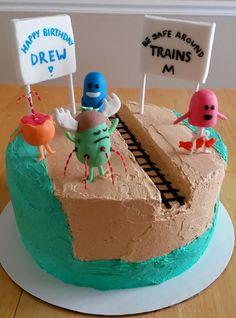 Shananigans Cakes: Dumb Ways to Die Cake