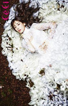 Taeyeon SNSD ★ Girl Generation // Ceci Magazine January Issue '14