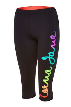 Love the Lorna Jane multicolour on these tights! Tight Leggings, Leggings Are Not Pants, Workout Wear, Workout Outfits, Gym Style, Bad Boys, Fitness Fashion, Black Pants, Fitness Inspiration