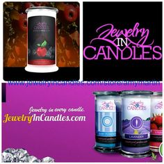 Facebook Giveaway. Jewelry In Candles