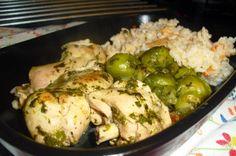 IO-HEALTHY KITCHEN: Frango estufado em espinafres e couve Bruxelas