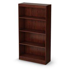 South Shore Axess Collection 4-Shelf Bookcase, Royal Cherry South Shore http://www.amazon.com/dp/B0056FO992/ref=cm_sw_r_pi_dp_d9Vfub17WN6FZ
