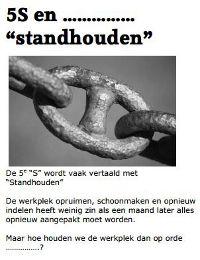 5S en het standhouden. Struiksma OTV www.leanworker.nl