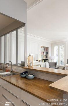 cool Idée relooking cuisine - Rénovation d'un appartement ancien à Lyon 03