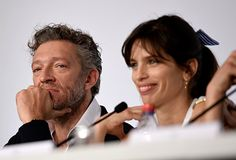 Vincent Cassel and Maïwenn at an event for Mon roi (2015)