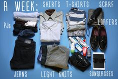How To Pack Like A Pro For Every Occasion - The Guys' Edition