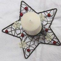Vánoce / Svátky | Fler.cz Wire Crafts, Jewelry Crafts, Fun Crafts, Arts And Crafts, Wire Ornaments, Diy Christmas Ornaments, Christmas Fun, Craft Night, Wire Baskets