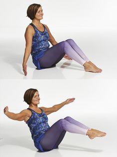 Treenaa tasapaino kuntoon! Katso kuvat kuuden liikkeen jumppaan | ET Pilates, Gym, Health, Fitness, Pants, Fashion, Pop Pilates, Trouser Pants, Moda