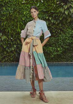 Get inspired and discover Silvia Tcherassi trunkshow! Shop the latest Silvia Tcherassi collection at Moda Operandi. 2020 Fashion Trends, Fashion 2020, Runway Fashion, Fashion News, Boho Fashion, Fashion Dresses, Womens Fashion, Fashion Design, Eclectic Style