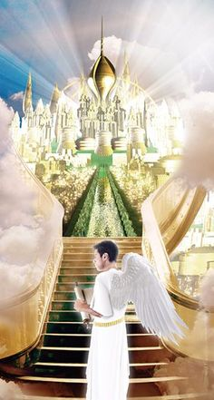Was he an angel in heaven? Did God create Lucifer and if so, why? Heaven Images, Heaven Pictures, Jesus Christ Images, Jesus Art, Bible Pictures, Jesus Pictures, Kingdom Of Heaven, The Kingdom Of God, Heaven Painting