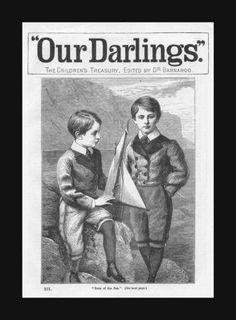 https://flic.kr/p/9sT4bo | 1886 Sons Of The Sea - The Childrens Treasury - edited by DR Barnardo
