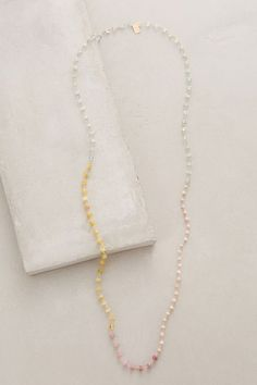 Ombre Spectra Necklace - anthropologie.com #anthrofave