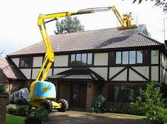 cherry picker roof access - Google Search