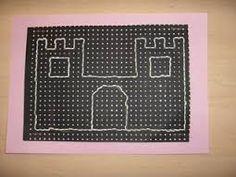 Afbeeldingsresultaat voor borduren kinderen ridders kastelen