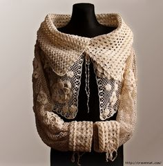 Irish crochet top