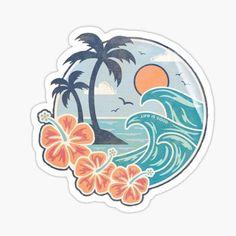 Cute Sticker, Cute Laptop Stickers, Cool Stickers, Printable Stickers, Jeep Stickers, Red Bubble Stickers, Preppy Stickers, Homemade Stickers, Tumblr Stickers