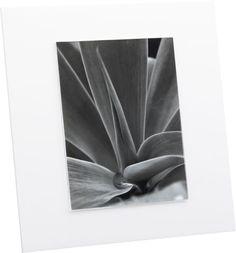 acrylic 8x10 frame    CB2