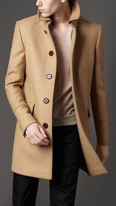Camel Burberry overcoat ... Yes please!