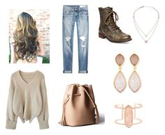 """""""Untitled #27"""" by kariannsweeney ❤ liked on Polyvore featuring rag & bone, Steve Madden, Dina Mackney, Kendra Scott and Michael Kors"""