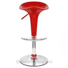 Embrace pumpkin orange perfection with the Gloss Coco Bar Stool Orange. Color Splash, Color Pop, Colour, Red Bar Stools, Chaise Bar, Kitchen Stools, Breath Of Fresh Air, Pink Plastic, Tubular Steel