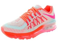 official photos 2e666 ab046 Nike Air Max 2015 (GS) Girls Running Shoes Review Breathe Easy, Nike Kids