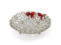 Coral gold fish, Pewter #homedecor #gifts #giftaway #pewter #loyfar www.loyfar.com