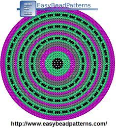 Wayuu Mochila bottom Tapestry Crochet Patterns, Crochet Mandala Pattern, Crochet Fabric, Crochet Circles, Crochet Pillow, Knitting Patterns, Boho Tapestry, Tapestry Bag, Tapestry Design